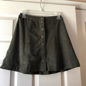 A&F high-waisted skirt